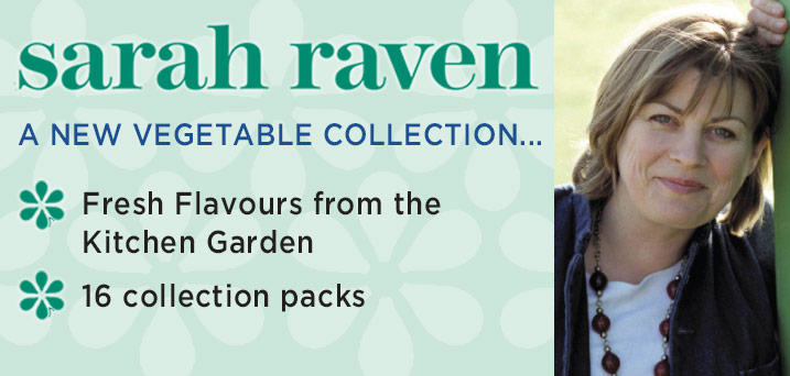 Sarah Raven - A new vegetable collection