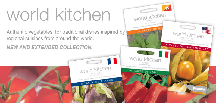 World Kitchen... vegetables that have inspired distinctive regional cuisines around the world